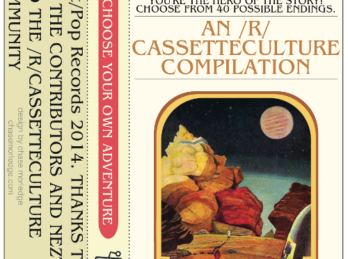 CHOOSE YOUR OWN ADVENTURE: A COLLABORATION WITH REDDIT'S R/CASSETTECULTURE (PXP006) 26 BAND COMPILATION ALBUM! Released March 29th 2014