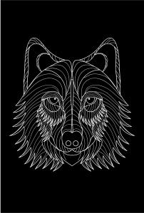 post/pop wolflogo