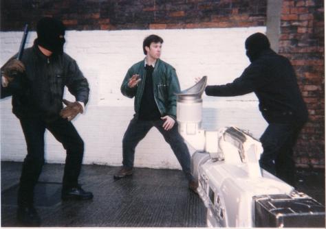 Connor - action shot