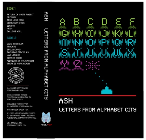 ASH - LETTERS FROM ALPHABET CITY (PXP015)